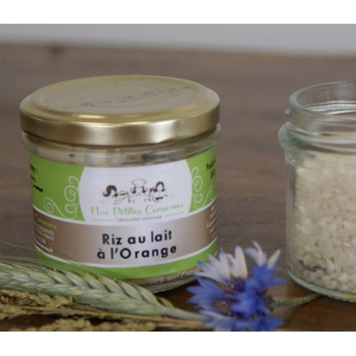 Riz au lait à l'orange 100g