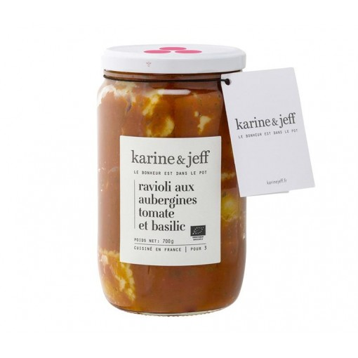 Ravioli aux Aubergines,...