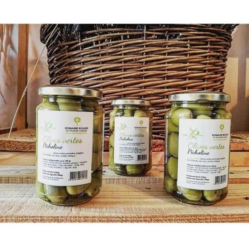 Olives vertes Picholine 350g