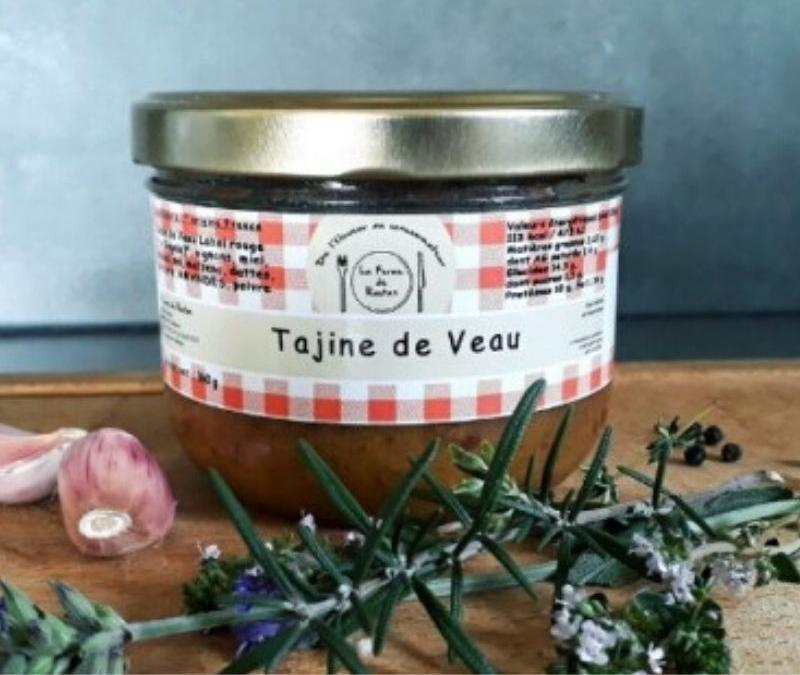 Tajine de veau label rouge...